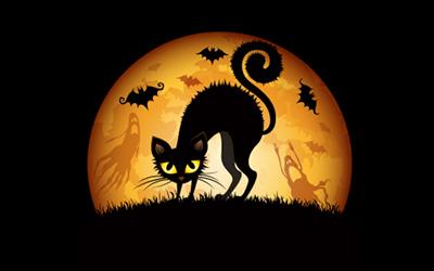 cat-halloween-art-1920x1200